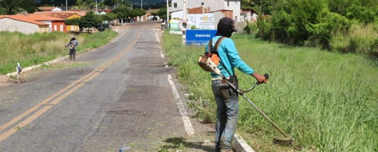 Festa de São Vicente de Paulo: Prefeitura inicia operação de melhorias na cidade